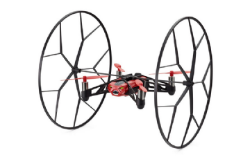 Parrot Minidrone Rolling Spider Quadcopter - Red PF723002AA
